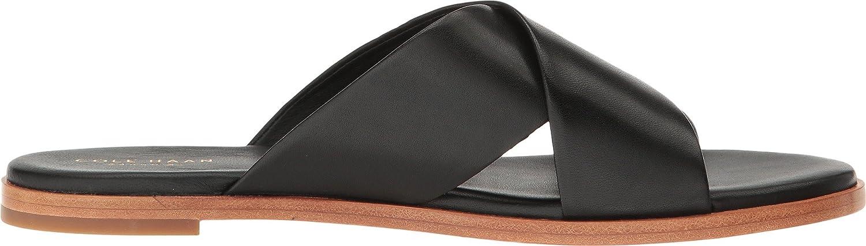 Cole Haan Women's Anica Criss Cross Slide Sandal B06XHH6V89 7.5 B(M) US|Black