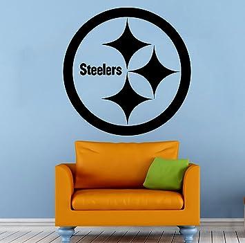 Amazoncom Pittsburgh Steelers Wall Vinyl Decal NFL Sticker - Custom vinyl decals pittsburgh