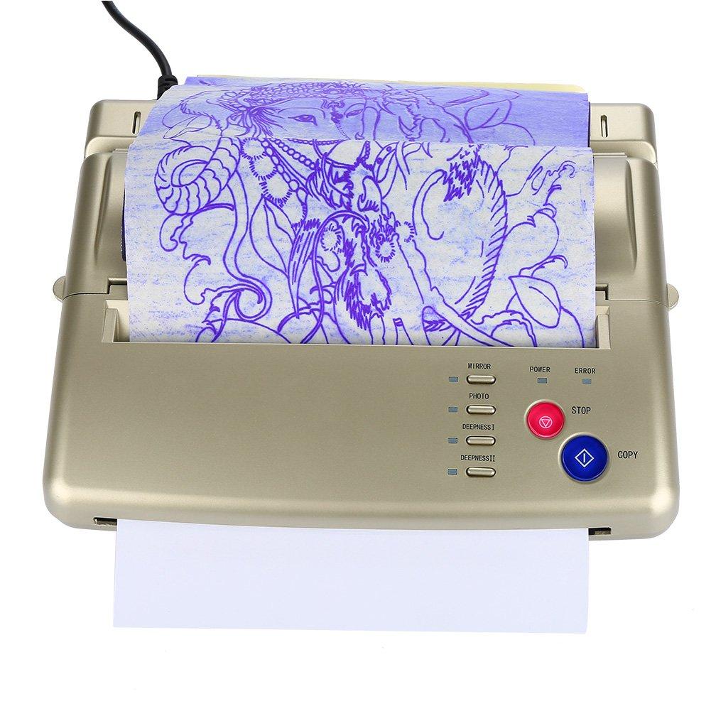 Impresora térmica tatuaje profesional Copiadora térmica, A4 ...
