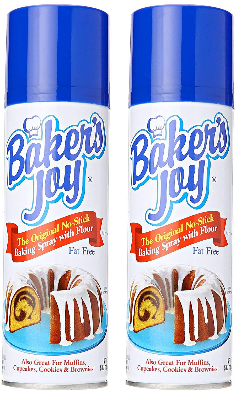 Bakers Joy Cake Pan Spray 2 Pack by Baker's Joy