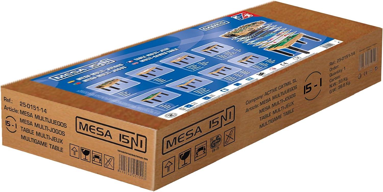 Mesa multijuegos Catmil 15N1: Amazon.es: Juguetes y juegos
