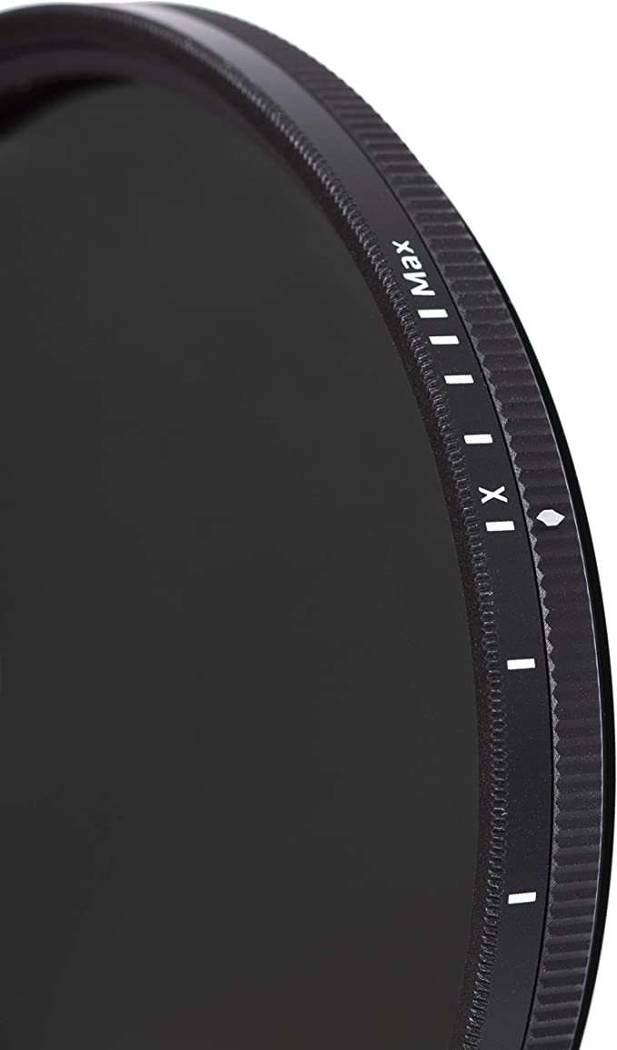 HGX Prime Neutral Density Filter 1.3-8 Stops Promaster 82mm Variable ND