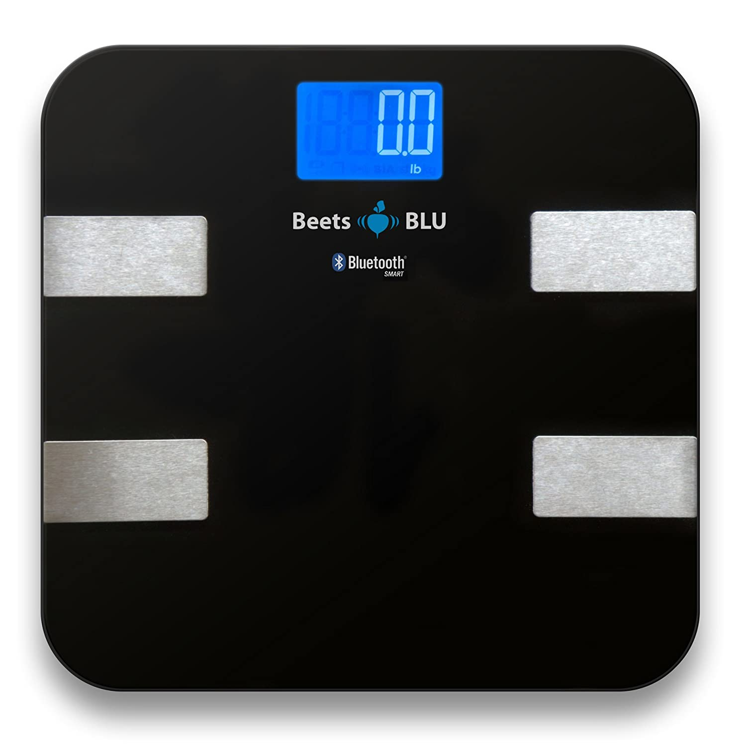 Amazon scale bathroom - Amazon Com Beets Blu Digital Bathroom Scale Or Weight Scale With Body Composition Smart Scale Works With Iphone Android And Ipad Health Personal Care