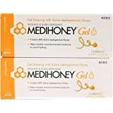 Medihoney Wound Gel Ointment - 1.5 Ounce Tube - Pack of 2