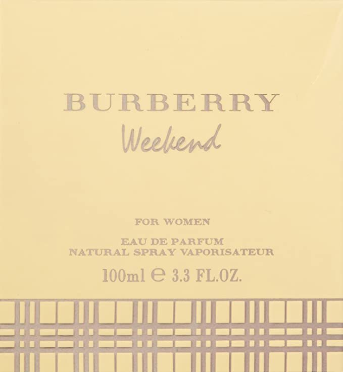 Burberry Weekend Eau de Parfum Spray para Mujer - 100 ml: Amazon.es: Belleza