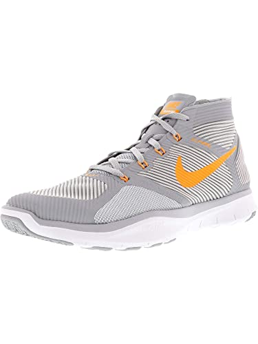 new style aba74 c2eb4 Amazon.com  Nike Mens Free Train Instinct Wolf GreyBright Citrus  Ankle-High Running Shoe - 8.5M  Running