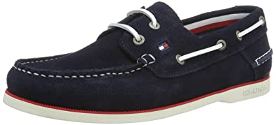 Tommy Hilfiger K2285not 1b, Chaussures Bateau Homme: Amazon