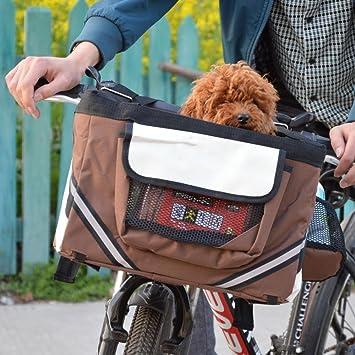 Kaxima Mochila para Mascotas Salir a un Paquete de Viaje una Cesta de la Bici: Amazon.es: Deportes y aire libre