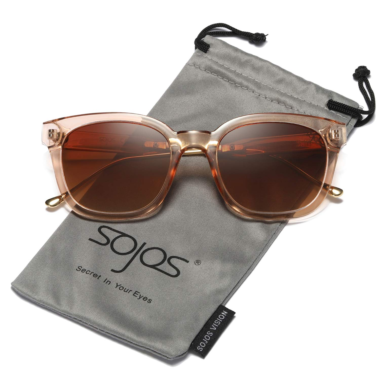 SOJOS Gafas De Sol Unisex Hombre Mujer Clásico Retro Cuadrado Polarizado SJ2050 product image