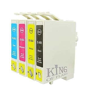 King of Flash Compatible con cartuchos de tinta para ...