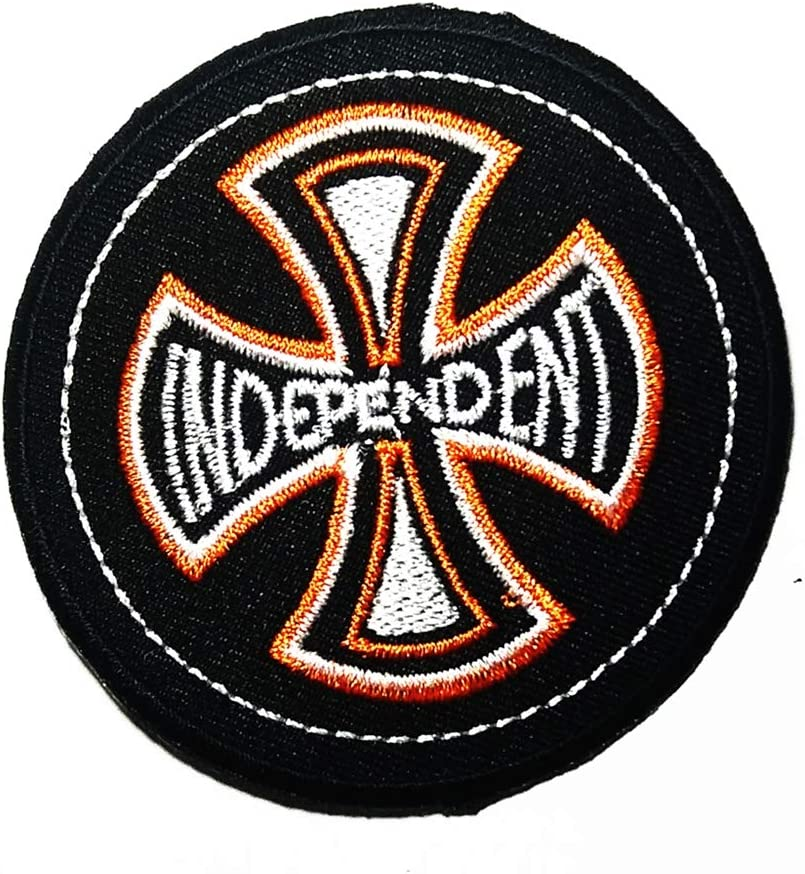 Embroidered What You See is What You Get Sew or Iron on Patch Biker Patch