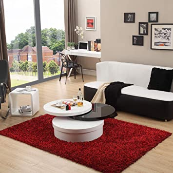 Awe Inspiring Clipop Rotating Coffee Table Gloss Coffee Table For Living Cjindustries Chair Design For Home Cjindustriesco