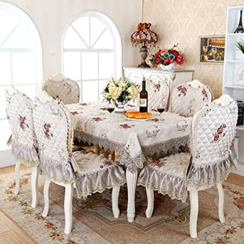 Tablecloths Chair Covers SetLiving Room Set CushionsSeat Dining