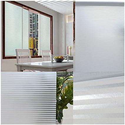 Groovy Amazon Com Glass Sticker White Frosted Window Film Frost Interior Design Ideas Tzicisoteloinfo