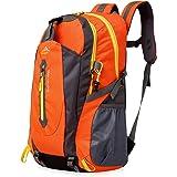 アウトドア 登山 バックパック, Natuce 40L大容量 防水 軽量 多機能 リュック 背中通気スポーツバッグ