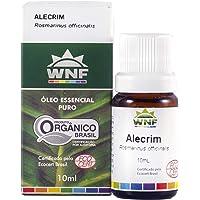 Óleo Essencial Alecrim 10 ml - Rosmarinus officinalis, WNF, Pequeno