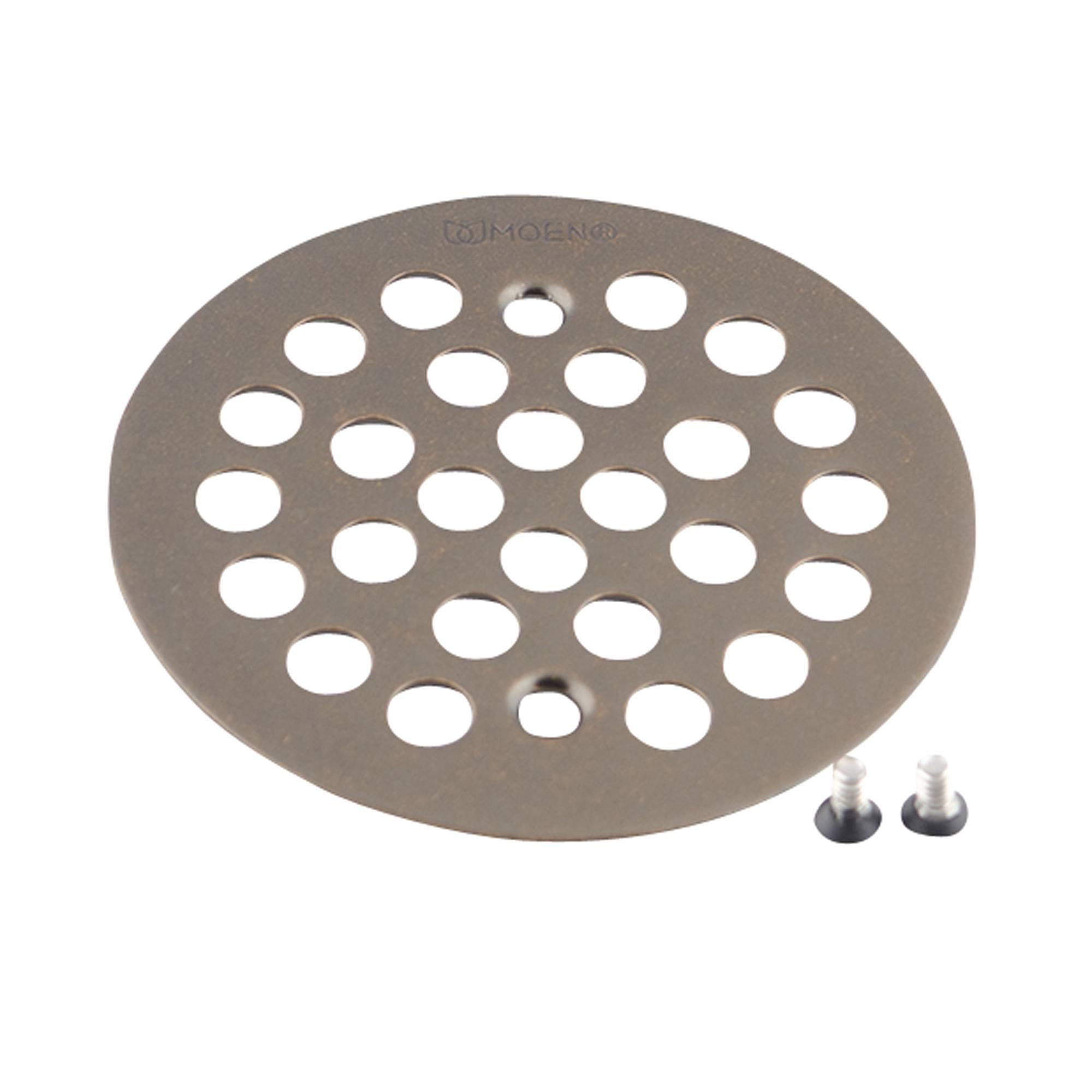 Moen 101664ORB Kingsley 4-1/4-Inch Screw-In Shower Strainer, Oil Rubbed Bronze