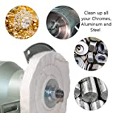 """6 Inch Buffing Polishing Wheels for Drill and bench grinder with 1/2"""" Arbor"""