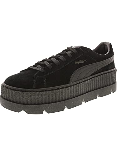 cheaper 0144e f6e63 PUMA Select Men s x FENTY by Rihanna Cleated Creeper Suede Sneakers, Puma  Black, 10.5