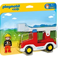 Playmobil 1.2.3 - 1.2.3 Camión de Bombero (6967)