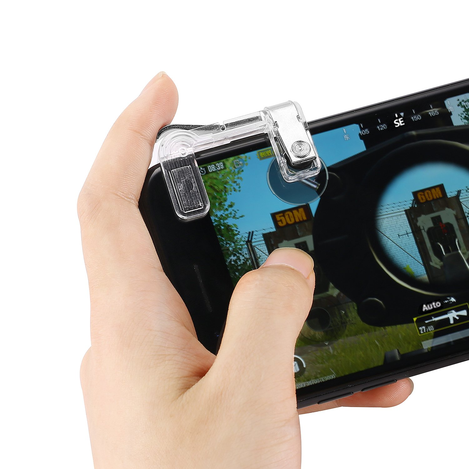 Amazon com: AirLook Mobile Game Controller PUBG Mobile
