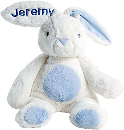 Colorful Easter Eggs Personalized Easter Bunny plush bunny easter basket stuffer -gfy86124668M-pink plush toy Easter gift for kids