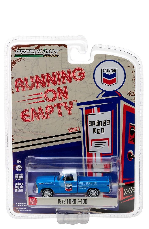 64 Running On Empty Series 1-1972 Ford F-100 Chevron Diecast Vehicle 41010-F Greenlight 1
