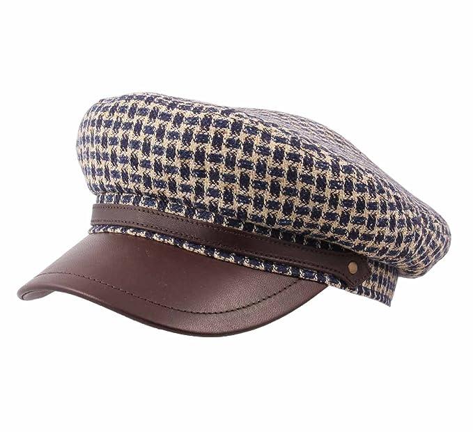91d3775eaa215 Stetson - Newsboy Cap Men Riders Cap linenen  Amazon.co.uk  Clothing