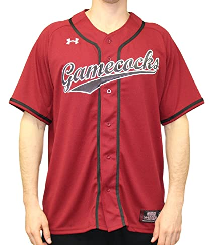 Image Unavailable. Image not available for. Color  Under Armour South  Carolina Gamecocks NCAA Men s Baseball Jersey ... 33976fa92
