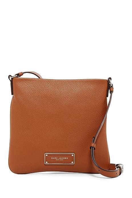 fcfdfef059b31 Marc by Marc Jacobs Sia Leather Crossbody Bag (Maple Tan)  Amazon.ca ...
