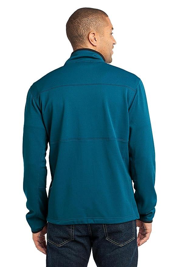 Port Authority NEW - Pique Fleece Jacket, XL, Blue Glacier at Amazon Mens Clothing store:
