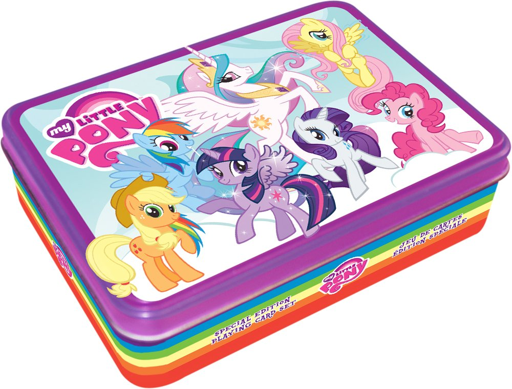 Aquarius My Little Pony – Juego de cartas Tin Set