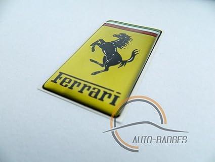 Ferrari Abzeichen Für Die Seite Classic Vintage Kofferraumabzeichen Auto