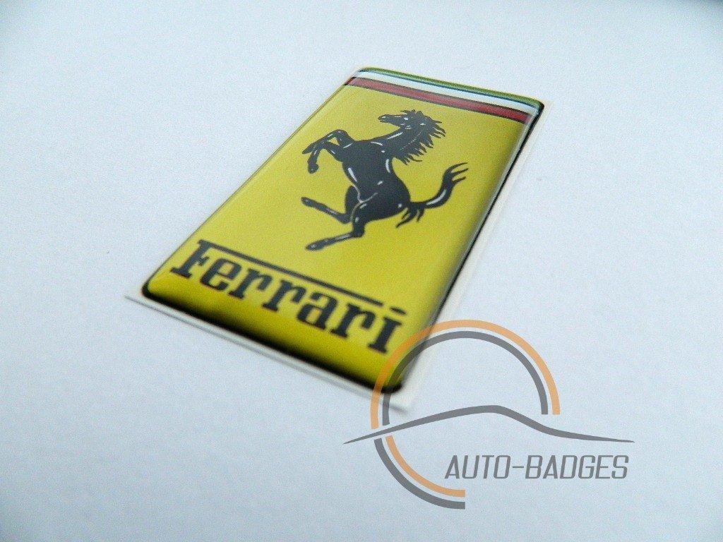 Distintivi Ferrari, distintivo laterale classic vintage, distintivo per bagagliaio