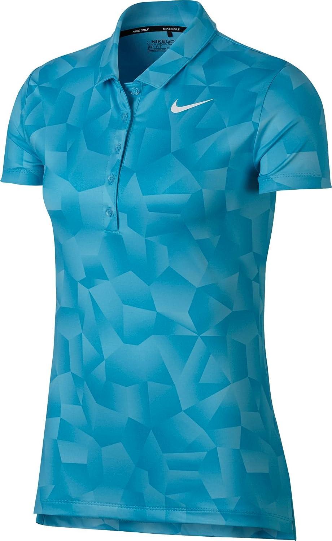 60276aab2b25d Nike Women's Dry Geo Printed Golf Polo