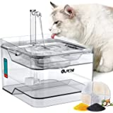 petnf Cat Water Fountain,2021 Upgraded Pet Water Fountain 101oz/3L Automatic Dog Cat Water Dispenser Ultra Quiet Cat Drinking