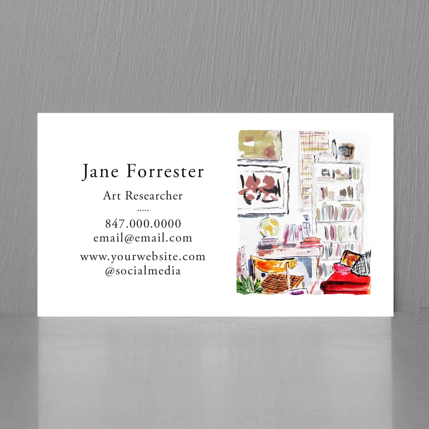 Amazon Com Business Cards For Interior Designers Home Staging Set Designer Writer And More Printing On 110lb Heavy Textured Cover Stock These Quality Cards Make An Impressive Impact 50 Office Products
