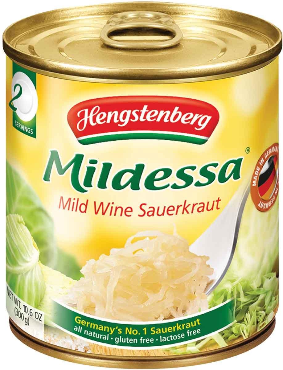 Hengstenberg Mild Wine Sauerkraut, 10.6 Ounce (Pack of 6) by Hengstenberg (Image #1)