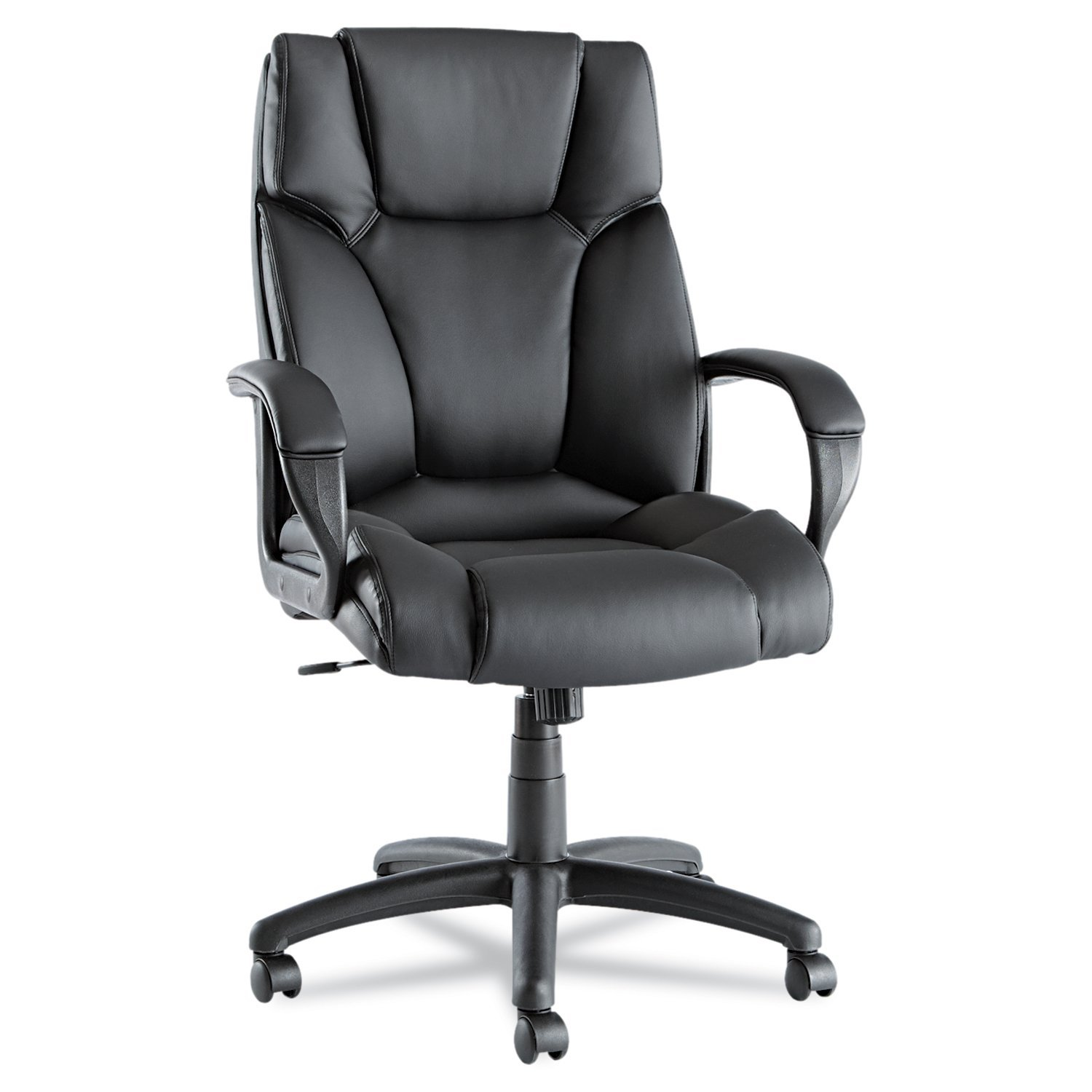 Amazon Alera Fraze High Back Swivel Tilt Chair Black Leather