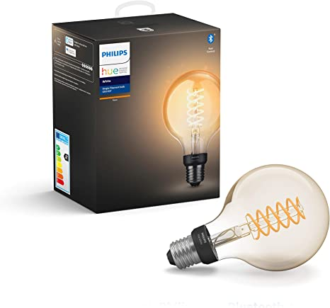 Compatible with Alexa and Google Assistant /& White Single Smart Bulb LED B22 Bayonet Cap with Bluetooth E27 Edison Screw with Bluetooth Philips Hue White Single Smart Bulb LED