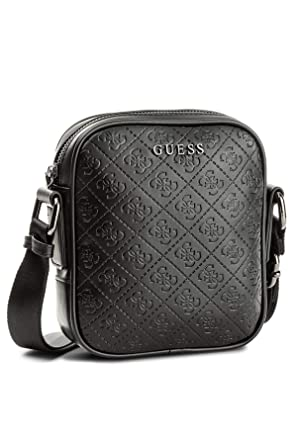 Guess Sacoche Homme Miami 4g - Noir - Taille unique  Amazon.fr ... 252eee39511