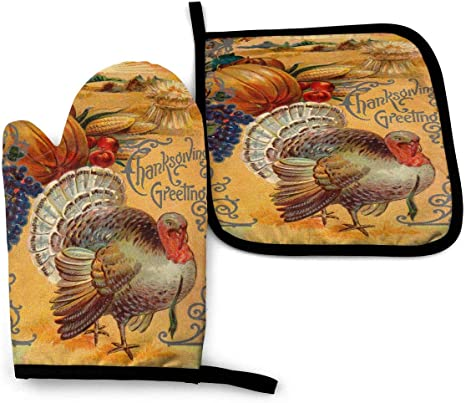 Digital Printable Happy Thanksgiving Turkey Vintage Image Digital Download