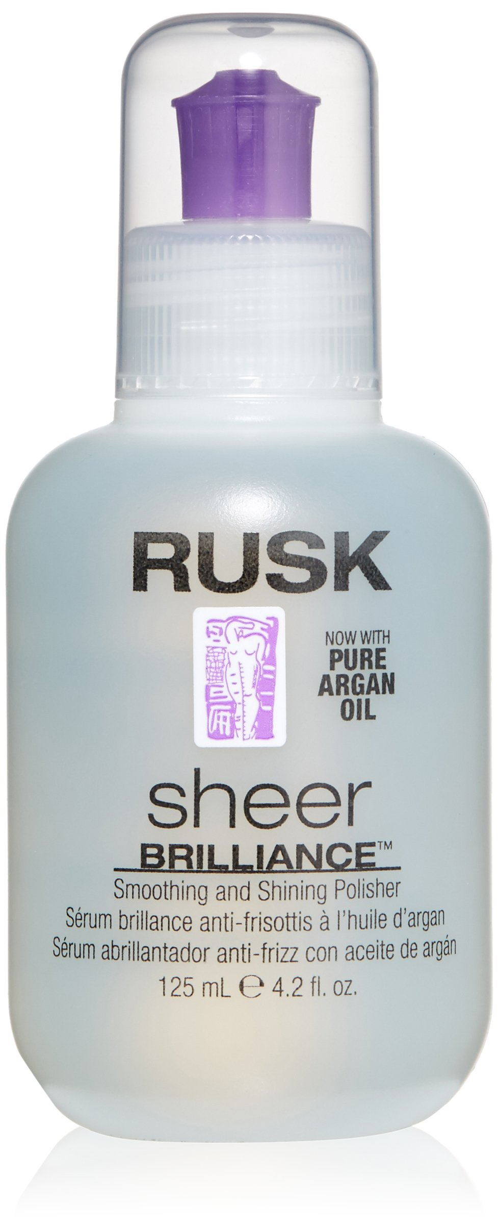 RUSK Designer Collection Sheer Brilliance Smoothing and Shining Polisher with Argan Oil