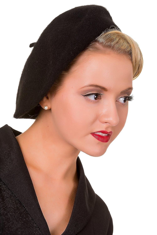 Banned Claire Vintage Retro Beret Hat