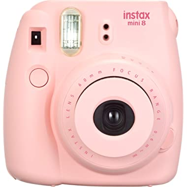 Fujifilm Instax Mini 8 Instant Camera (Pink) (Discontinued by Manufacturer)