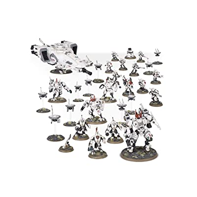 Games Workshop Warhammer 40,000 T\'au Empire Starclaimer Hunter Cadre: Toys & Games [5Bkhe0504002]