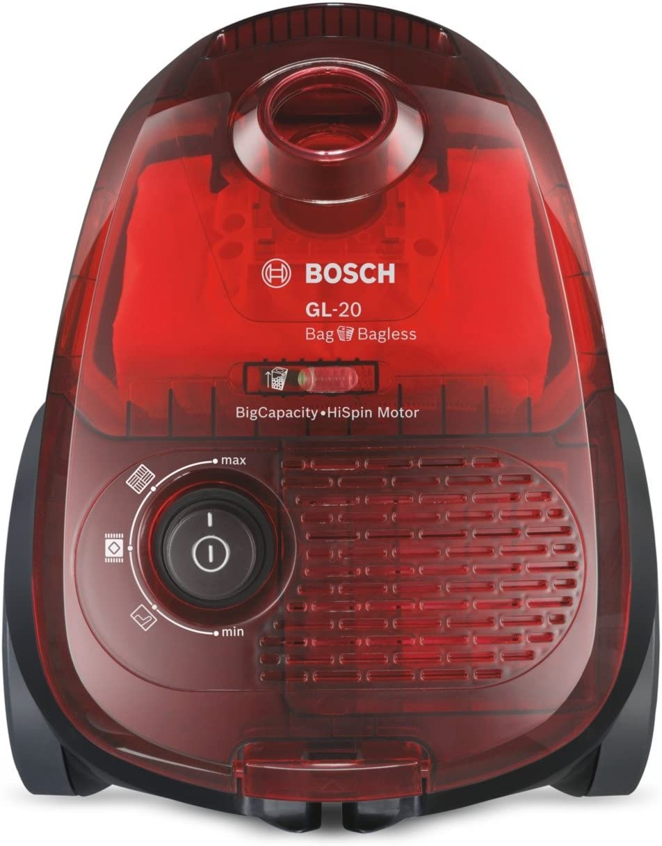 Bosch BGL2UB1108 GL-20 Bag & Bagless - Aspirador con bolsa, diseño ...