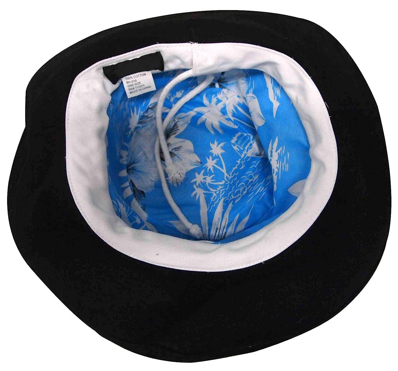 Womens Summer Cotton Bucket Beach Hat Foldable Sun Hat