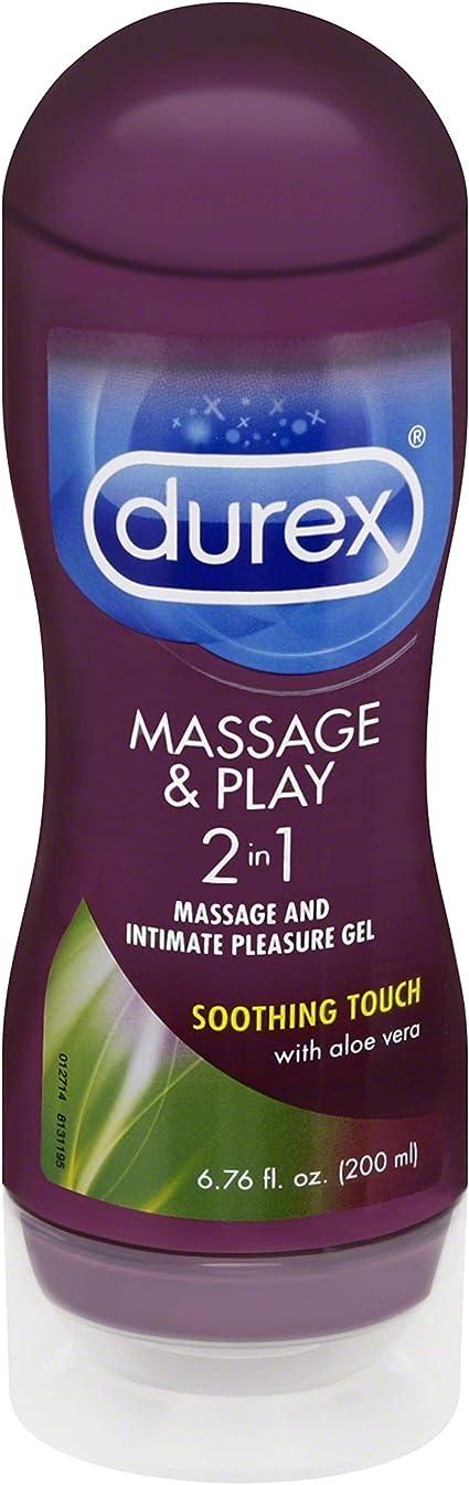 Amazon Com Lubricant Durex Massage Gel Personal Lubricant