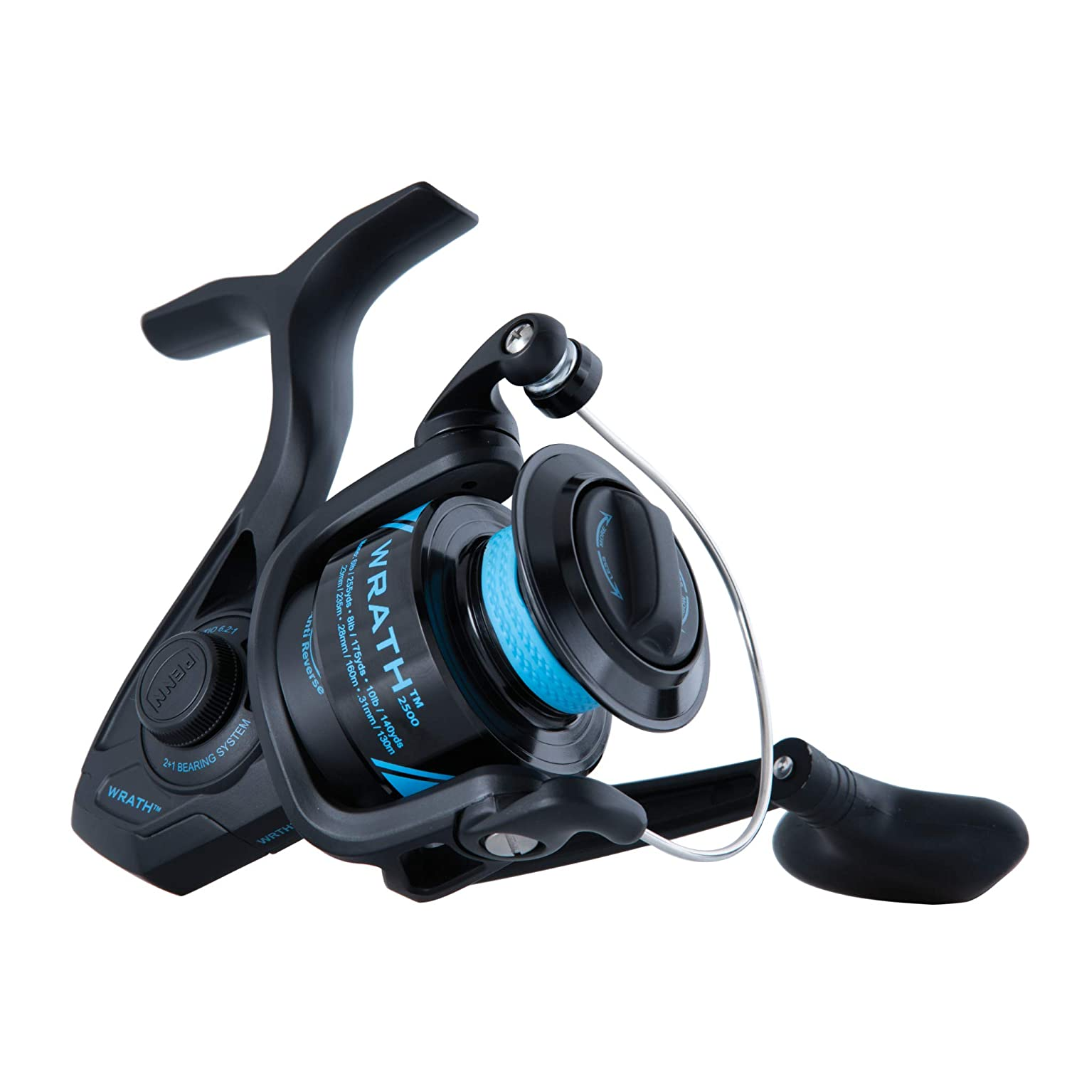 PENN Wrath Spinning Fishing Reel – WRTH2500C